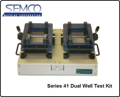 semco series 41 cam/trac dual well test kits